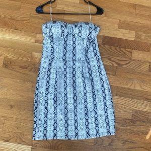 Gorgeous snakeskin mini dress. Never been worn